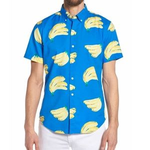 🍌BONOBOS banana button up
